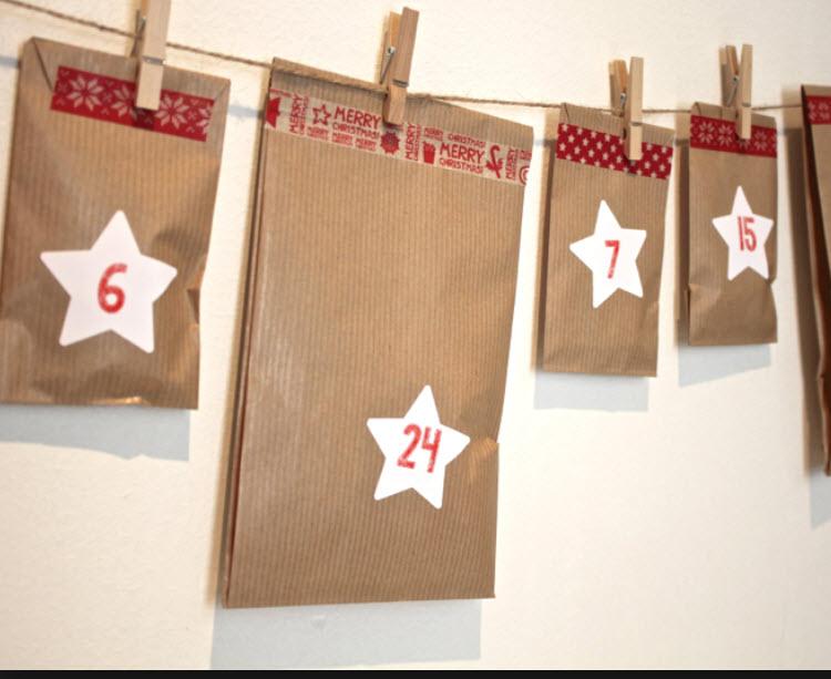 Calendrier de l 39 avent fait maison notre 3 me etape 3 4 les enigmes de 13 24 un univers de - Comment creer un calendrier de l avent ...