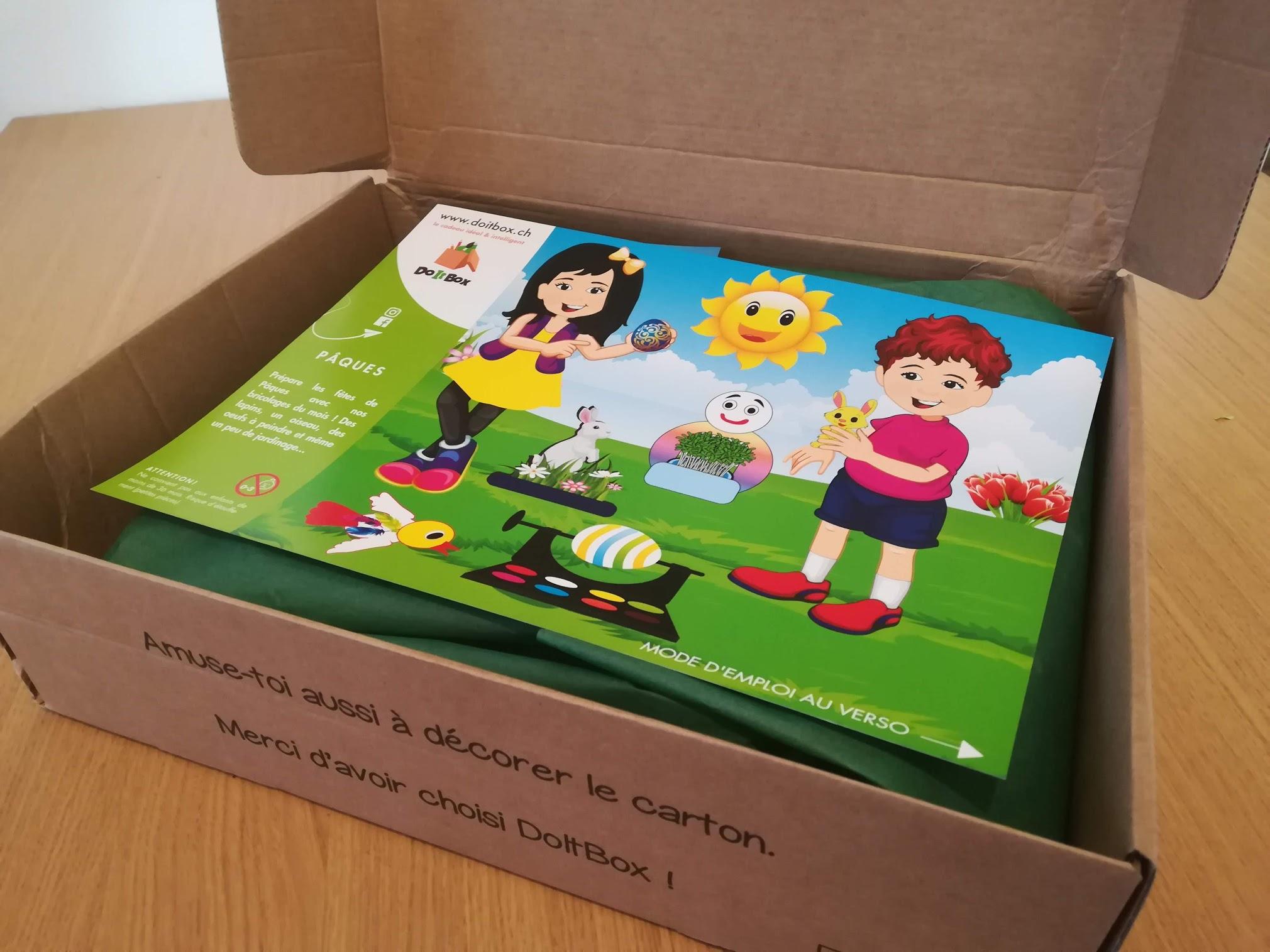 La DoItBox, la box aux multiples activités, testée par 3 familles.