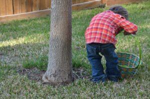Le jeu de la chasse aux trésors de Pâques
