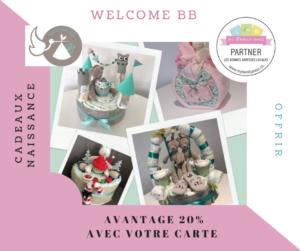 Welcome BB et ses cadeaux de naissance originaux