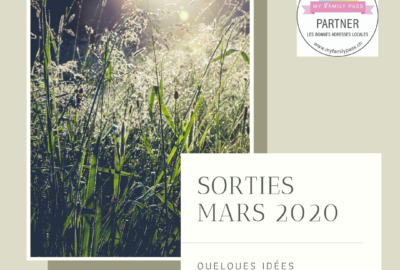 sorties mars 2020 my family pass