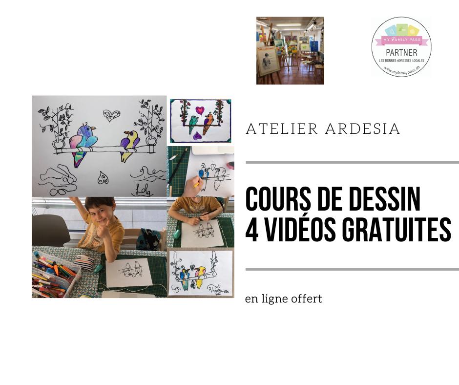 Cours de dessin : 4 vidéos gratuites