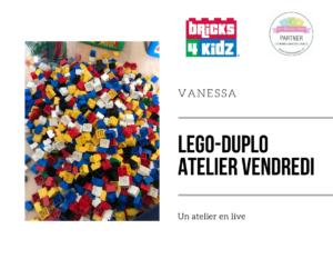 Atelier Lego les vendredi – Gratuit