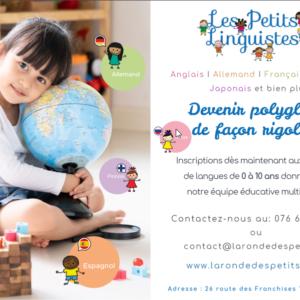 Les Petits Linguistes ATELIERS